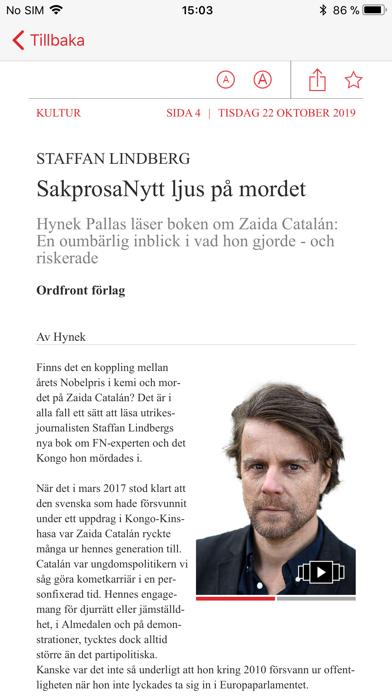 Aftonbladet tidning på PC