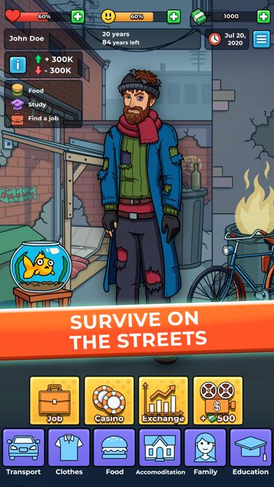 Hobo Life - business simulator Screenshot