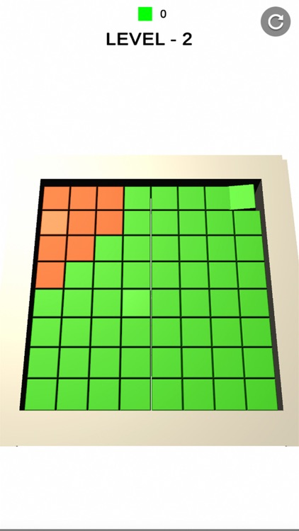 fill cubes : color road fill