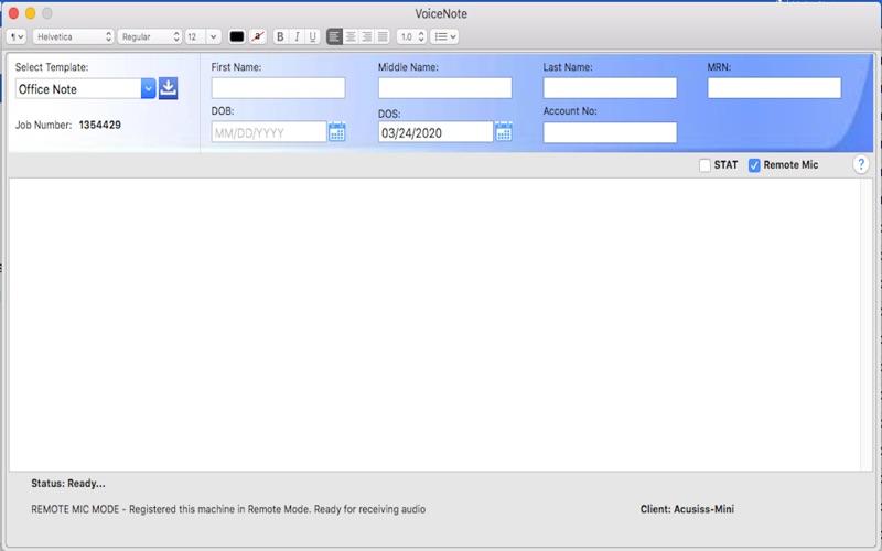 eCareNotes скриншот программы 5