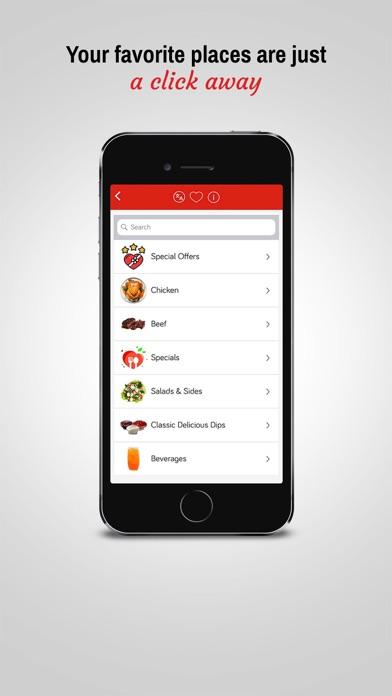 Screenshot for Bitfood  Order food online. in Lebanon App Store