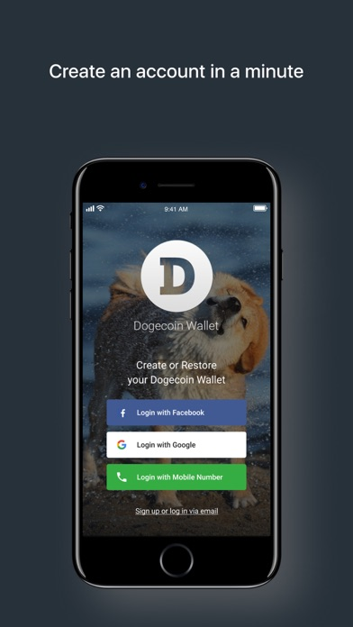 Dogecoin Wallet by Freewallet