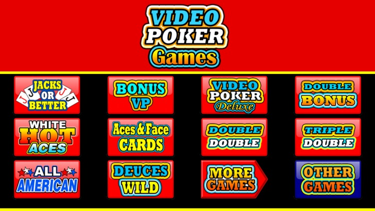 Video Poker Games screenshot-3