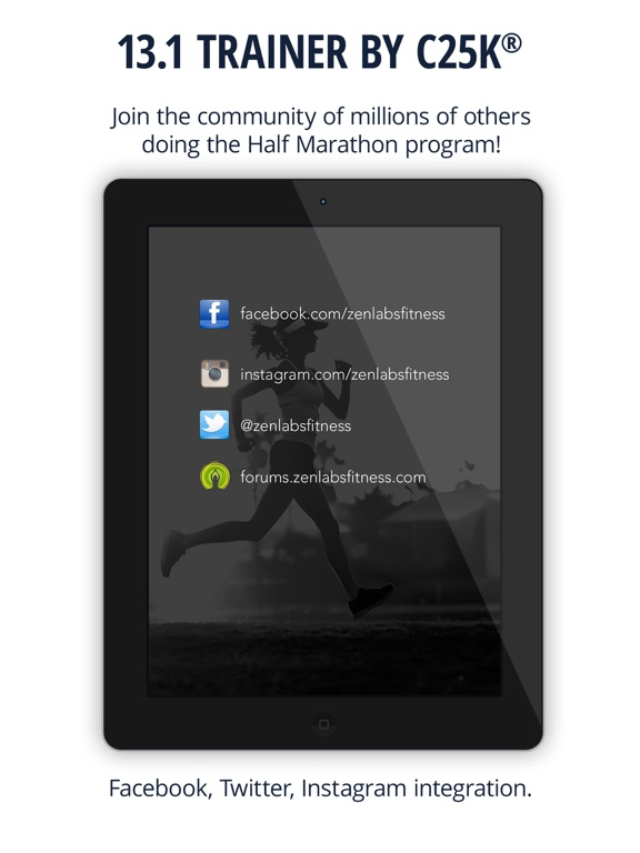 13.1 Half Marathon Trainer Screenshots
