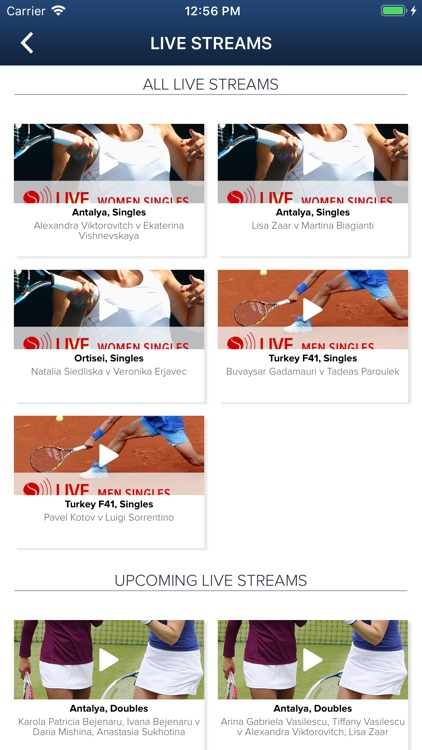 ITF Live Scores screenshot-3