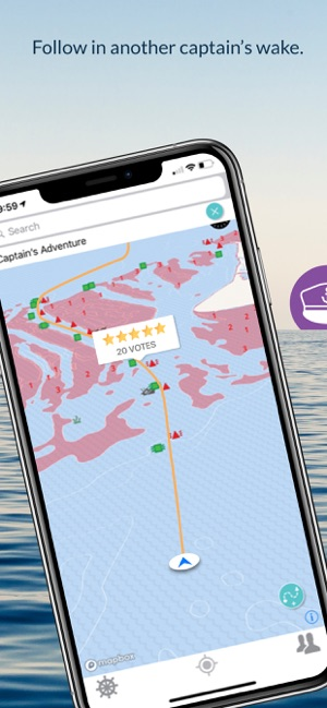 Wavve Boating-Easy Marine GPS on the App Store