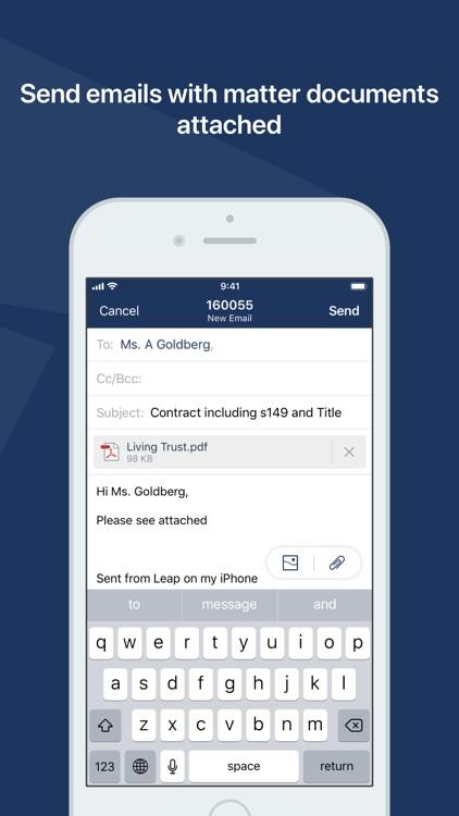 LEAP Mobile screenshot-3
