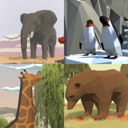 VR Zoo Wild Animals Polygon