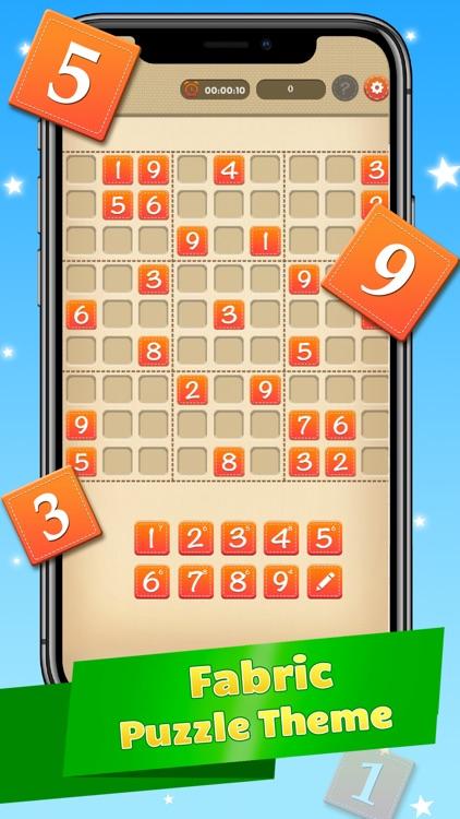 Sudoku Number Puzzle Sodoku screenshot-3