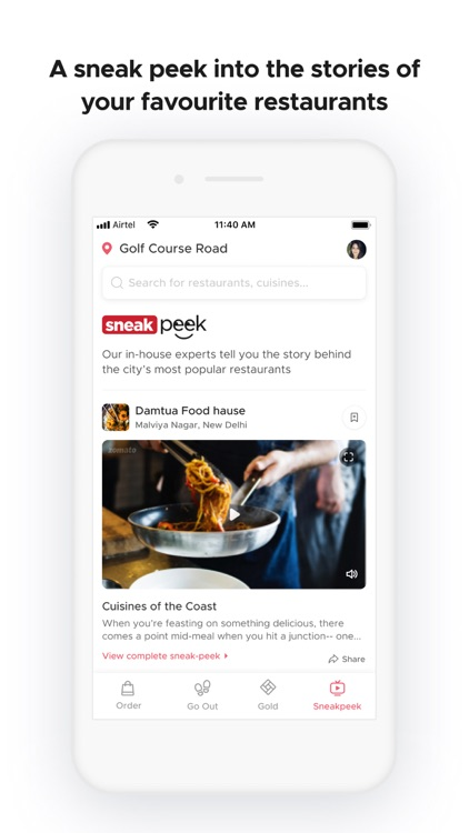 Zomato - Food & Restaurants screenshot-5