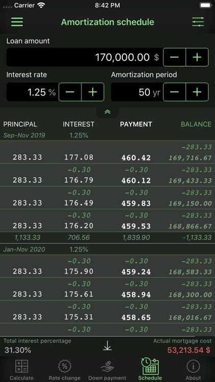 Home Mortgage Calculator screenshot-9