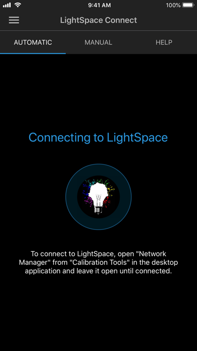 LightSpace Connect screenshot one