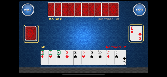 ‎Best Gin Rummy Screenshot