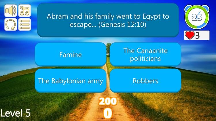 Bible Trivia Quiz Questions screenshot-4