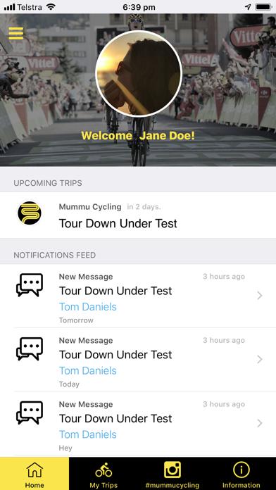 Mummu Cycling screenshot 2