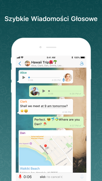 Screenshot for BOTIM - video calls and chat in Poland App Store