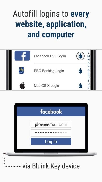 Bluink Key - Password Manager screenshot-4