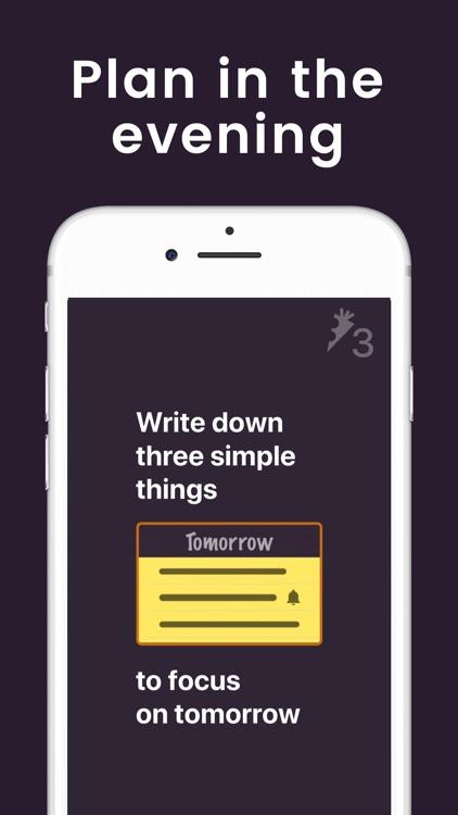 3 Things to Do - To-Do list screenshot-0
