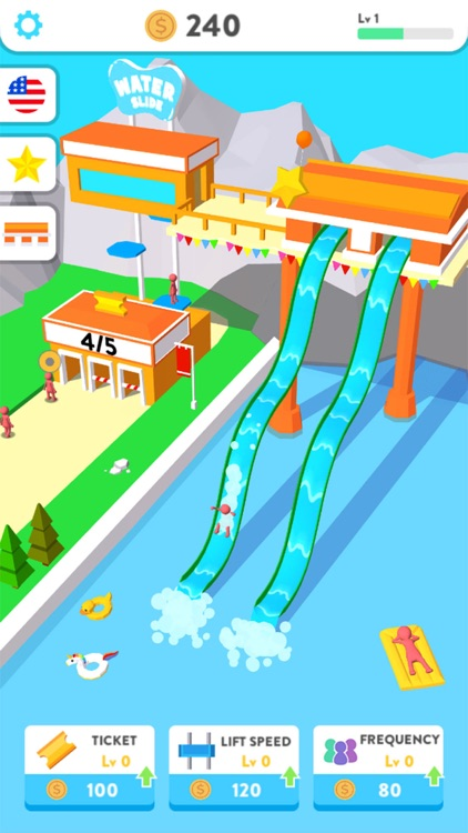 Idle Water Slide screenshot-0
