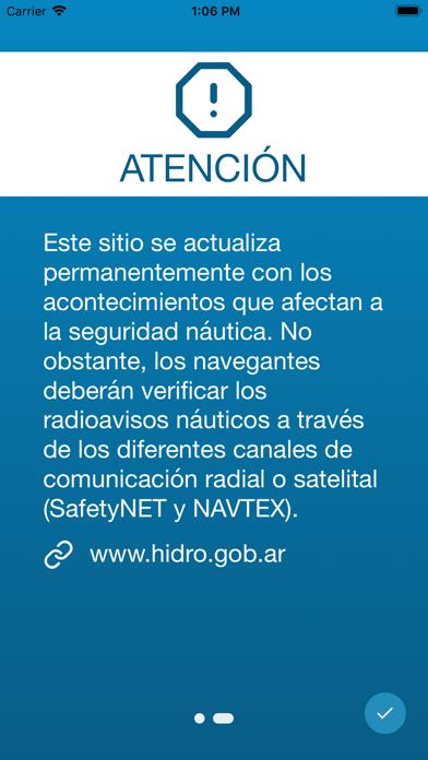 Radioavisos NáuticosCaptura de pantalla de3
