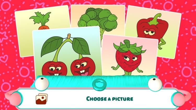Connect the Dots - Fruits screenshot-0