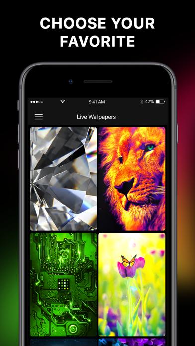 Live Wallpapers & Lockscreens Screenshot