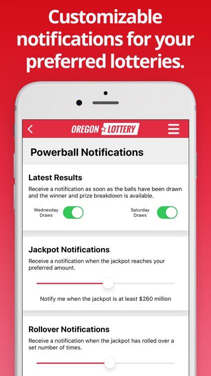 Oregon Lottery Numbers screenshot-4