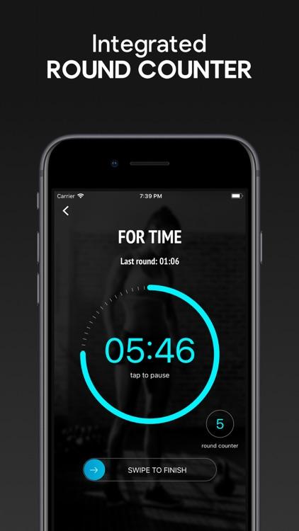 SmartWOD Timer - WOD Timer screenshot-3