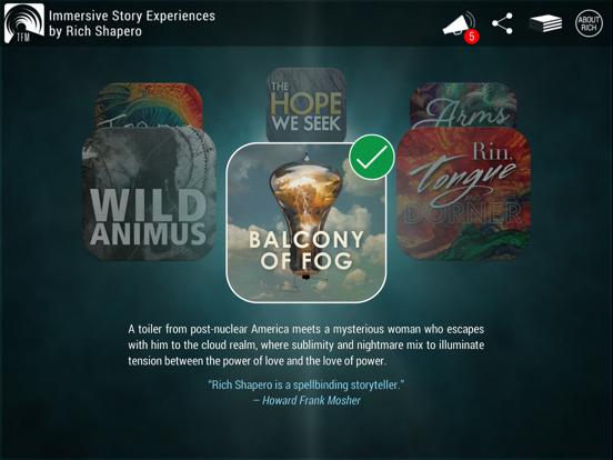 TooFar Media: Immersive Story Experiences screenshot