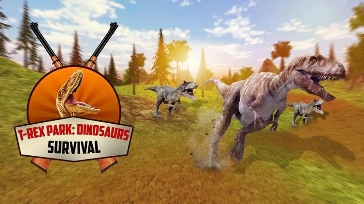 T-Rex Park: Dinosaurs Survival screenshot-5