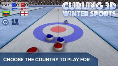 Curling 3D - Championship screenshot one