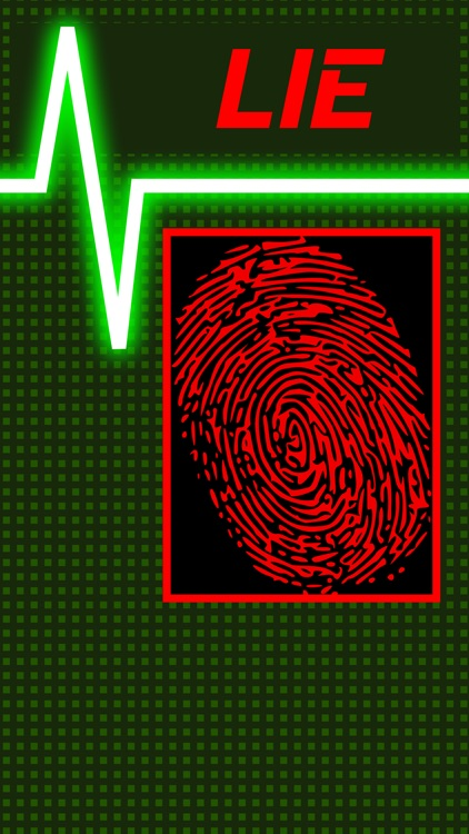 Lie Detector Fingerprint Touch