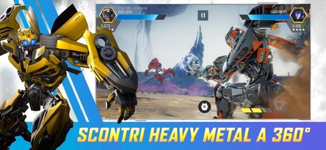 Transformers Combattenti Su App Store