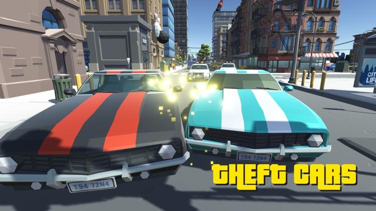 Gangster Crime Auto Polygon screenshot-5