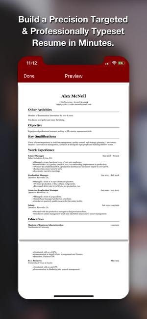 Resume Star Pro Cv Maker On The App Store
