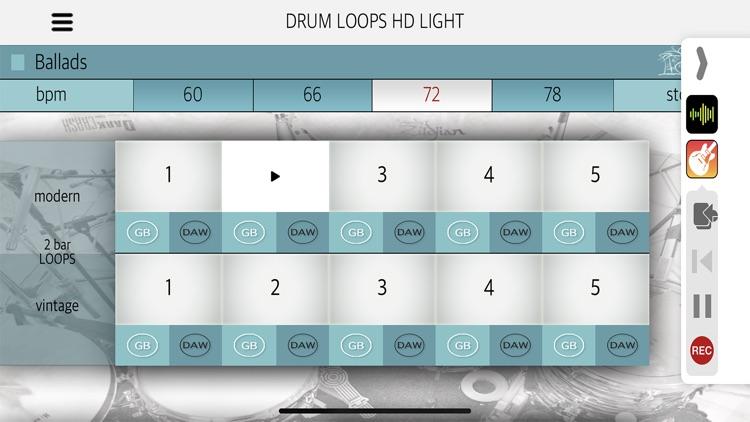 Drum Loops HD Light screenshot-4