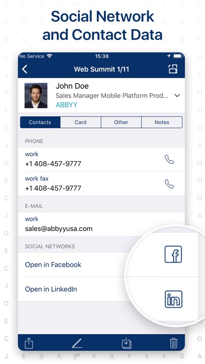 ‎Business Card Scanner screenshot-3