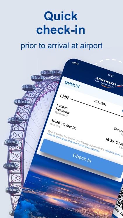 Aeroflot – air tickets online screenshot-0