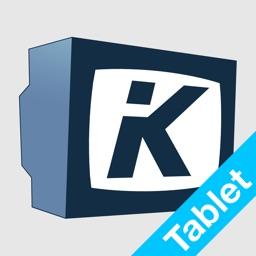 KLACK TV-Programm (Tablet)