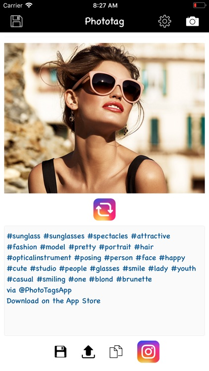 Phototag hashtag generator PRO screenshot-1