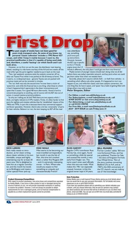 Classic Van & Pick Up Magazine screenshot-3