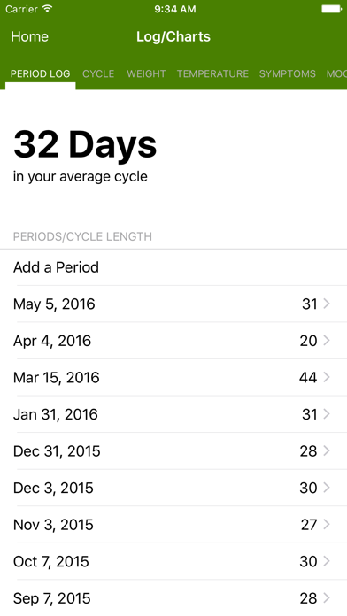 Period Tracker by GP Apps screenshot four