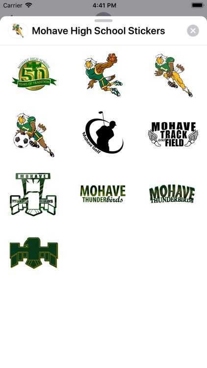 Mohave High School Stickers