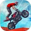 Dirt Bike Roof Top Racing Fun App Icon