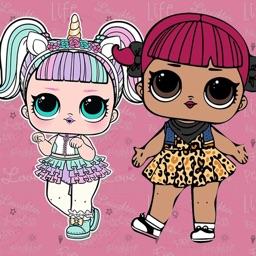 LOL Princesses Dolls Wallpaper