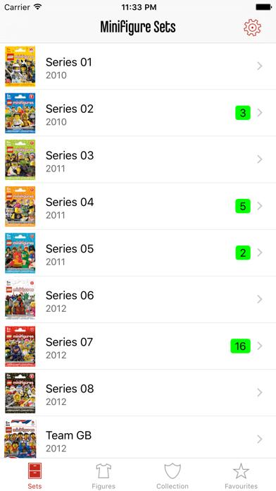 Minifig Collector Screenshot
