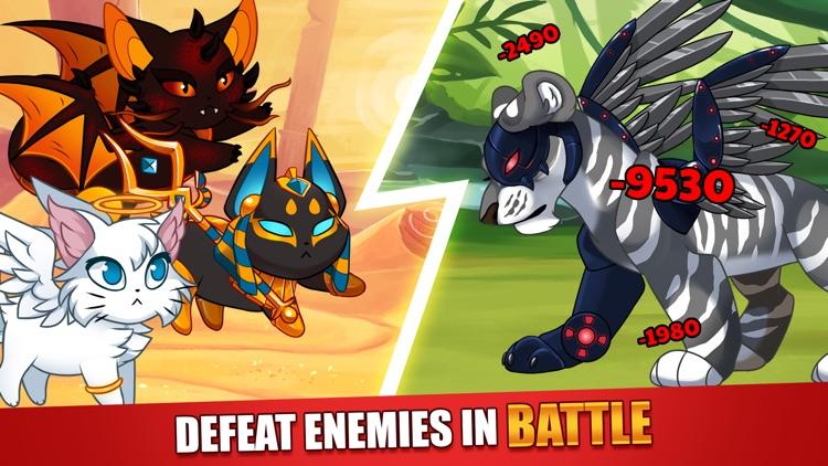 Castle Cats - Idle Hero RPG screenshot-3