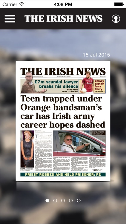 The Irish News Digital Edition