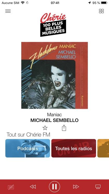 Chérie FM Radio screenshot-3