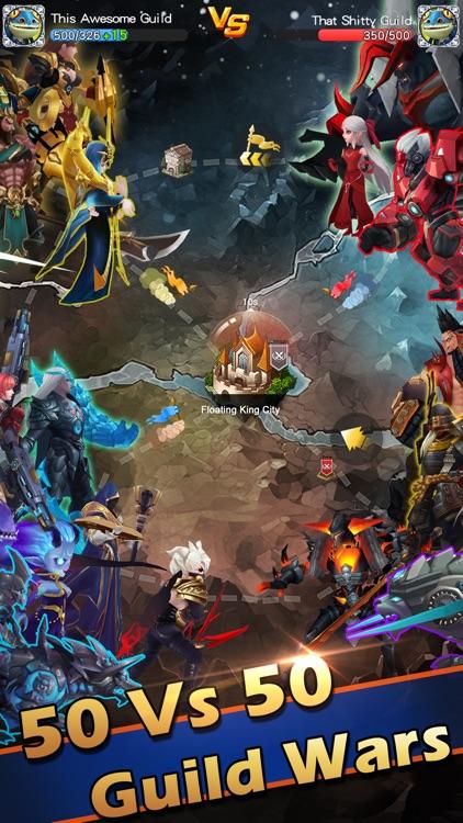 Hyper Heroes: Marble-Like RPG screenshot-4